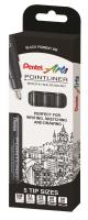 Quality drawing pen expands Pentel arts range
