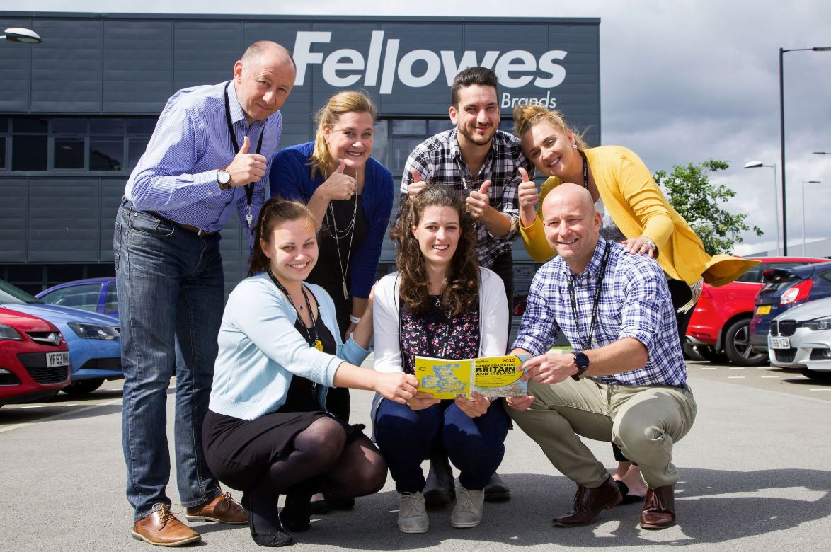 Fellowes UK Staff all set for the Trailwalker Challenge