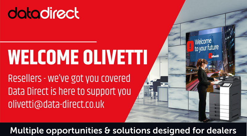 Data Direct and Olivetti have entered into a preferred distributor agreement